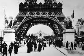 「1889, eiffel tower completed」の画像検索結果
