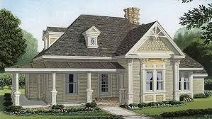 Victorian Cottage House Plans   BuilderHousePlans comVictorian Cottage House   Plan HWBDO