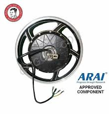 GoGoA1 17inch 2000W Brushless Electric Hub <b>Motor Kit</b> with battery ...