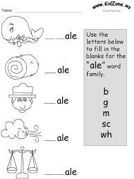Free printable word family worksheetsphonics printable template