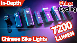 Are Chinese <b>bike lights</b> any good? Massive comparison & test ...
