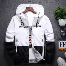 <b>New Spring Autumn</b> Bomber Hooded Jacket Men Casual Slim ...