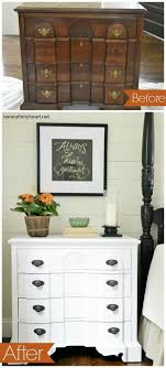 painted furniture bedside table white makeover bedroom ideas painted furniture bedroom furniture makeover