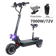 $2185.61 47% OFF | <b>FLJ</b> 72V 7000W <b>Electric</b> Scooter with Dual ...