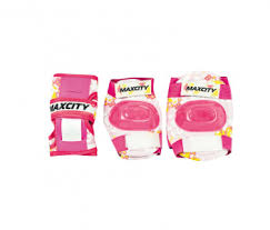<b>Защита роликовая MaxCity</b> Teddy р. М, pink — купить за 690 руб.