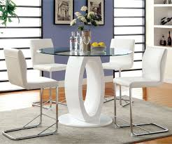 high gloss dining table tempered contemporary high gloss round dining table round tempered glass top mo