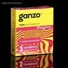 <b>Презервативы</b> «<b>Ganzo</b>» <b>Long</b> Love, с анестетиком, 3 шт ...
