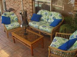 patio chair cushions for outdoor furniture patio chair with 04 blue cushions patio chairs and brown covers outdoor patio