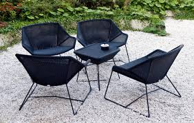 outdoor furniture design outdoor patio furniture cheap black coloured backrest chairs steel legs small square cheap outdoor furniture ideas