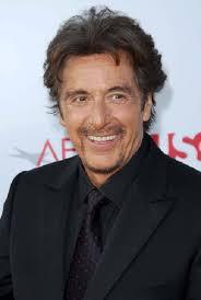 Al Pacino  - 2019 Dark brown hair & casual hair style.