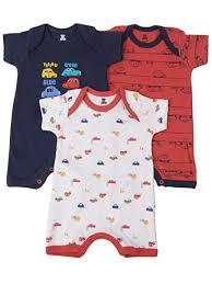 Buy I <b>Bears Baby</b> Boys and <b>Baby</b> Girls <b>Pure Cotton</b> Half Sleeves ...