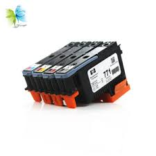 winnerjet for hp 771 remanufactured ink cartridge with pigment and one time use chip designjet z6600 z6800 printer