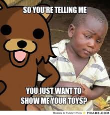 so you're telling me... - Skeptical African Boy Meme Meme ... via Relatably.com