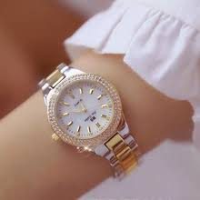 Buy <b>2019 luxury brand</b> lady crystal watch and get free shipping on ...