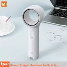Xiaomi Youpin <b>Handheld Bladeless Fan F1 Portable</b> Leafless Fan ...