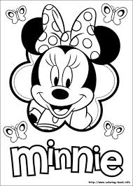 Small Picture Minnie Mouse printable coloring sheet Ellie Kates 2nd Birthday