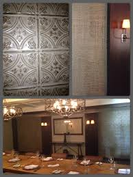 sagging tin ceiling tiles bathroom: inspiring home decoration with faux tin ceiling tiles