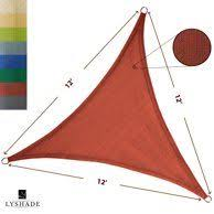 ALEKO <b>Triangular Waterproof Sun Shade</b> Sail Sand in 2019 ...