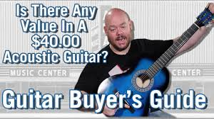 Unboxing An Amazon <b>Best Selling $40 Acoustic</b> Guitar - Guitar ...