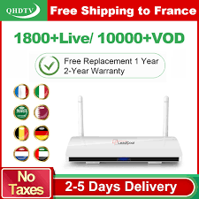 <b>Leadcool</b> IPTV France Arabic <b>1 Year QHDTV</b> IPTV Subscription ...