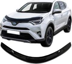 <b>Дефлектор капота CA</b> Plastic для <b>Toyota</b> Rav4 2015 - н.в. (Черный ...