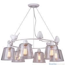 <b>Люстра ARTE Lamp A4289LM-6WH</b> Bird   Интернет магазин ...