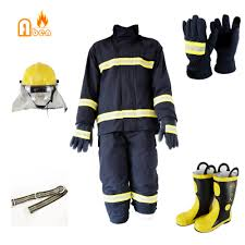 New <b>Factory direct sale</b> EN469 Fire Fighting Fireproof Suit, <b>High</b> ...