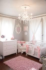 princess room furniture sets baby girl nursery theme including chandelier from crystal ribbon decor crib pink fur rug baby nursery decor furniture