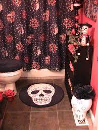 Skull Bathroom Decor Day Of The Dead Bathroom Decor Pinteres