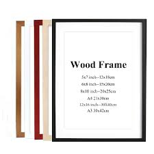 Best Price High quality a4 <b>wooden wall</b> frames brands and get free ...