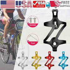 1/<b>2pcs Bike Bicycle</b> Water Bottle Cage Drink Holder Rack Bracket ...