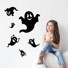 <b>Halloween</b> Ghost Phantom Wall Stickers DIY <b>Home Decor</b> Decals ...
