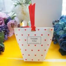 <b>10pcs</b> light pink sakura Cherry Blossom Paper <b>Box</b> Candy Storage ...