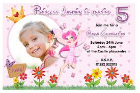 40th birthday ideas fairy princess birthday invitation templates 10 personalised princess fairy birthday party photo invitations n84
