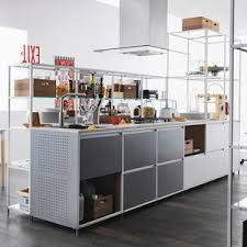 contemporary kitchen walnut metal wood veneer antis fusion fitted kitchens euromobil