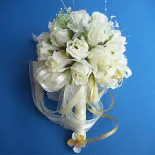 Artificial Rose Flower, <b>High end</b> Wedding Bridal Bouquet With ...