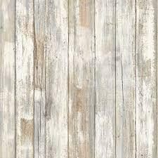 RoomMates <b>Distressed Wood</b> Peel and Stick <b>Wallpaper</b> ...