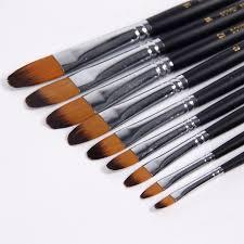 BGLN <b>9Pcs</b>/<b>Set Nylon Hair</b> Watercolor Paint Brush Oil/Acrylic Artist ...