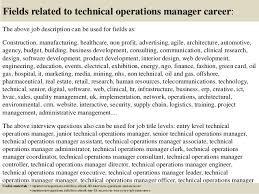 top technical operations manager interview questions and answers  17 fields related to technical operations manager
