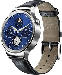 <b>Huawei</b> 115016.0 Stainless Steel Classic <b>Smartwatch</b> with Leather ...