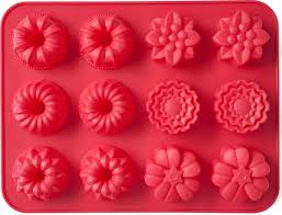 "<b>Форма для выпечки Walmer</b> ""<b>Cupcakes</b>"", цвет: красный, 12 ячеек ..."