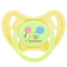 <b>Соска</b>-<b>пустышка BABOO Baby</b> Shower латексная круглая от 0 мес ...