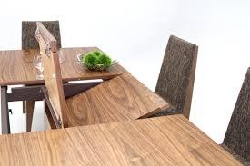 wood extendable dining table walnut modern tables:  zwalnut