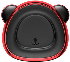 Автодержатель <b>Baseus Bear Magnetic</b> Car Bracket, Red [SUBR-A09]
