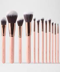 makeup brush set 12 18 24 pcs soft synthetic professional cosmetic make up foundation blush fan eye beauty brushes with bag