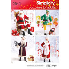 Simplicity <b>Christmas Costume</b> Sewing <b>Pattern</b>, 2542 at John Lewis ...