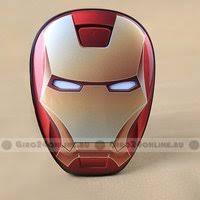 «<b>Внешний аккумулятор Power</b> Bank Avengers Iron Man 12000 ...