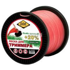 Купить <b>Леска для триммера DDE</b> Hard Line 2.0mm x 126m Grey ...