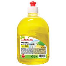 жидкость для мытья посуды <b>Любаша</b> Лимон 500мл 604778 купить ...