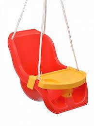 <b>Качели</b> со <b>столиком</b> 15-10960 <b>Zebratoys</b> красный, желтый ...